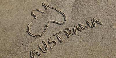 australia sand